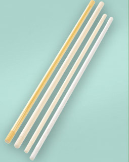 Threaded bars from alumina materials